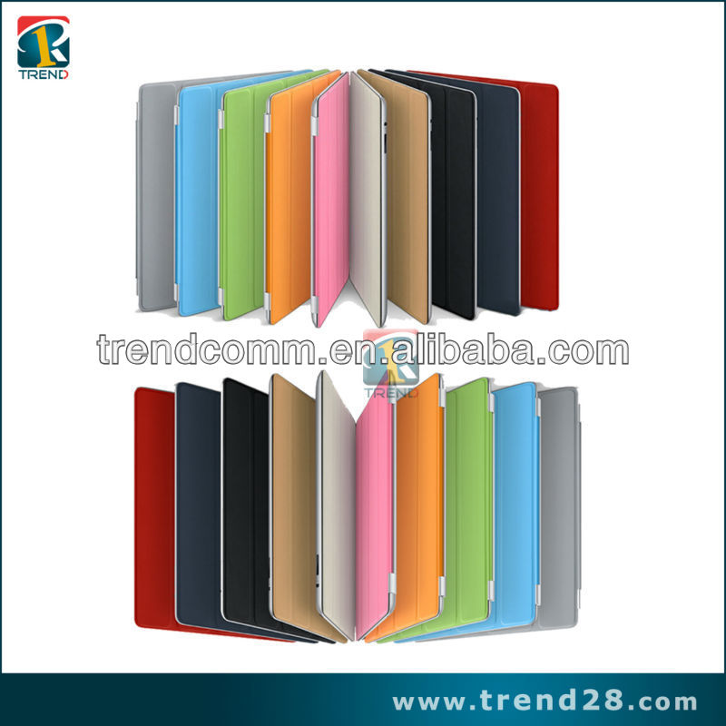 guangzhou manufacturers fashion leather case for ipad 2 support bags