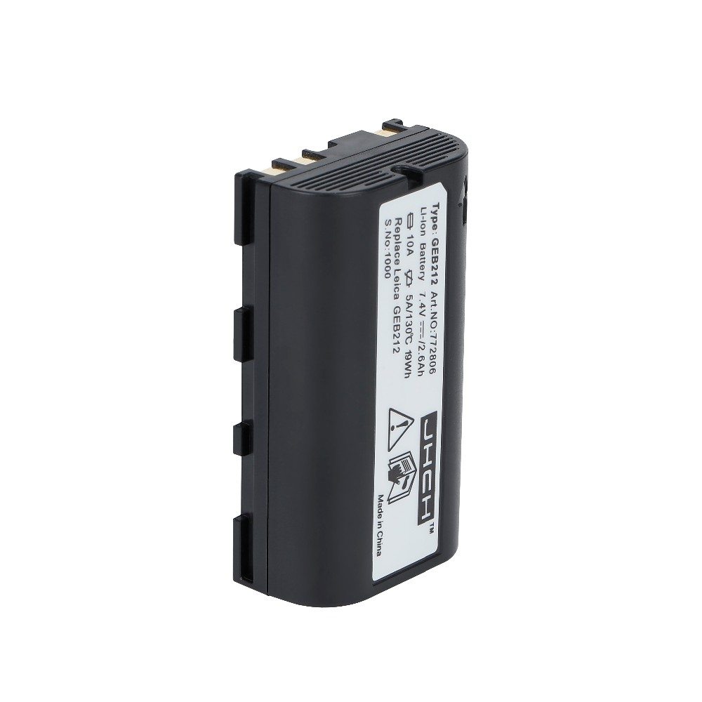 7.4V 2600mAh GEB212 Li-ion battery for TPS1200,ATX1200,GPS1200,GRX1200,RX1200,TC1200 total station