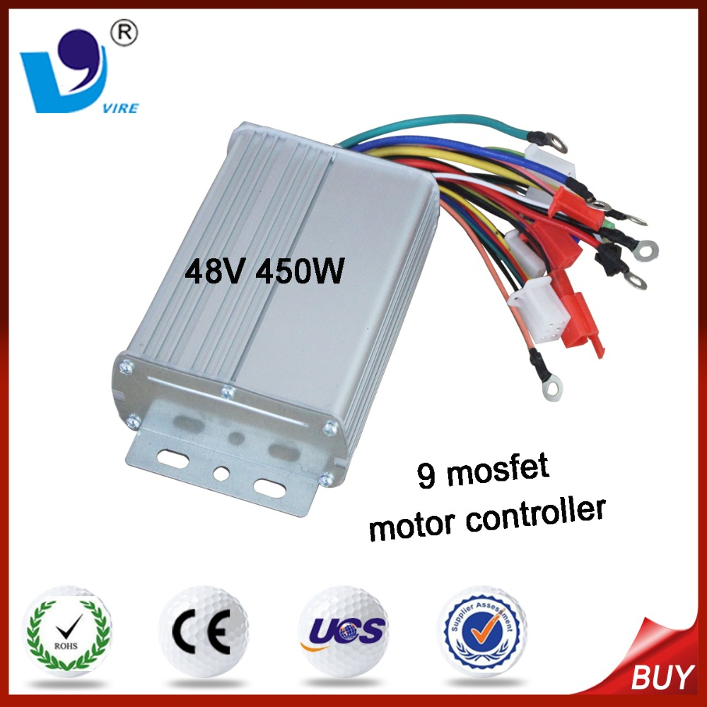 48v 450w dc Electric Car Motor Speed Controller