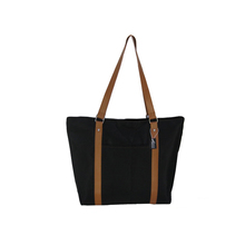 Wholesale fashion large women microfiber custom tote bag for shopping
