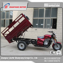 China mini truck trailer / street legal electric motorcycle 200cc / motorized cargo 3 wheel tricycles for adults
