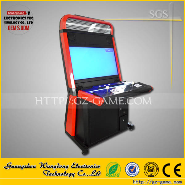 Wangdong video game console cabinet/cheapest amusement dynamic video game