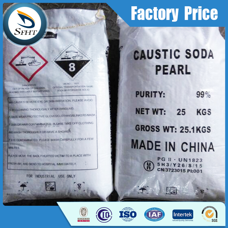 Factory price for Caustic Soda Pearls 99% / Caustic Soda Flakes 99% / Caustic Soda Solid 99%