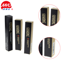 Foldable lip balm paper packaging box lipstick packaging box with gold logo