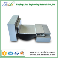 Corner Aluminium Alloy Expansion Joint Cover for Construction Material
