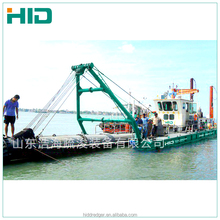 HID 14 inch mini sand mud cutter suction dredger gold dredger for sale