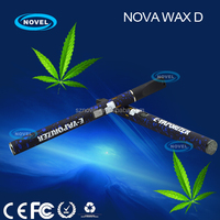 Purest taste Nova Wax D vaporizer Nextick disposable e cig dry herb attachment