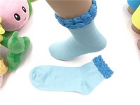vivid color ace lady cotton tube socks pure