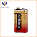 Alibaba China 9v 6f22 high capacity gold business battery