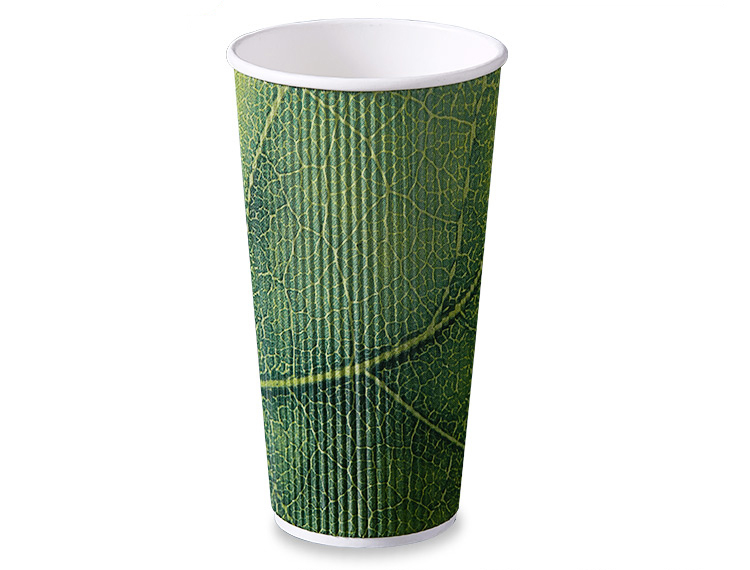 Disposable 4oz 8oz 10oz 12oz 16oz Ripple Wall Paper Cup
