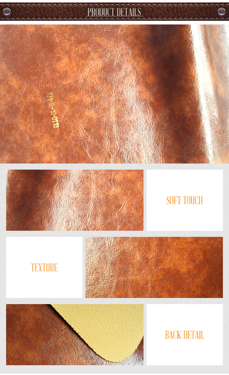 artificial microfiber fabric leather for furniture