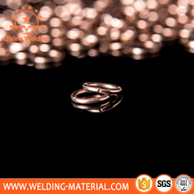 Quick delivery copper based brazing ring silver ring