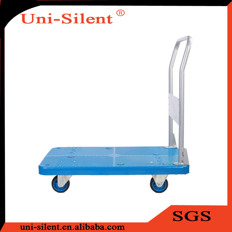 200kg 4 wheel Furniture Tea Muck Truck Trolley Carts to India PLA200T