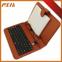 Best Design Tablet Laptop Leather Sleeve with keyboard,PC Computer Holster Leather Sleeve