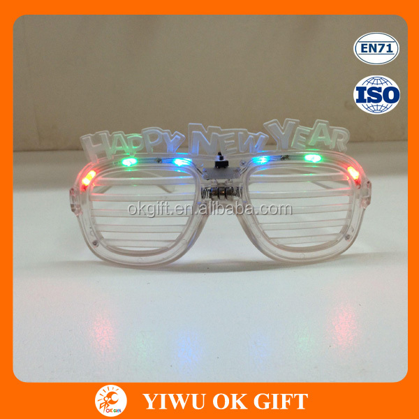 Wholesale LED Light Glasses For 2016 Happy New Year