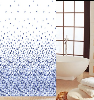 Selling new creative style fashionable PEVA shower curtain