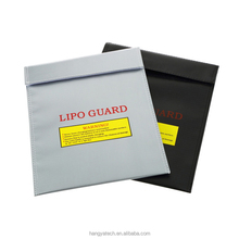 Wholesale custom RC LiPo Battery Safety Bag Safe Guard Charge Sack Waterproof Fireproof Bag (Large/small size)