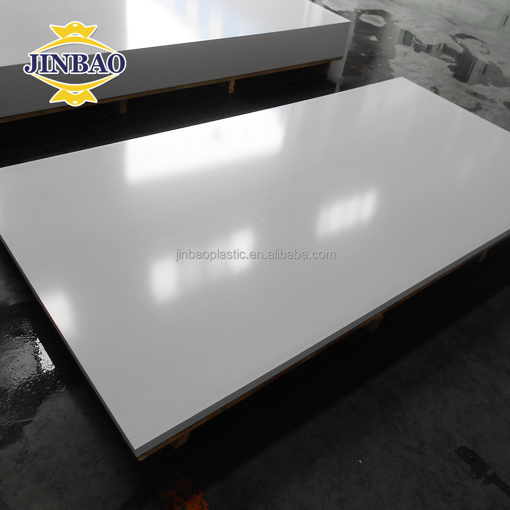 JINBAO China advertising material pvc plastic foam sheet 9mm pvc 3d poster board UV printable outdoor