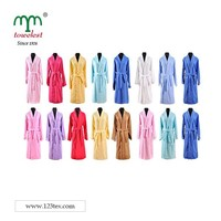 Adult Shawl Collar Bath Robe 100% cotton