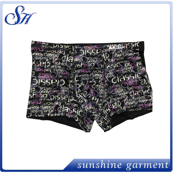 high quality wholesale hot selling fashional mens boxer brief underpants