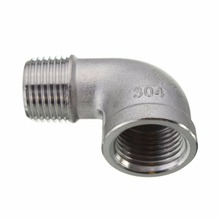 150 Bls Screwed Stainless Steel 90 Degree Reducing Street Elbow