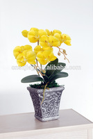 High imitation real touch Japanese pot artificial flower pots butterfly