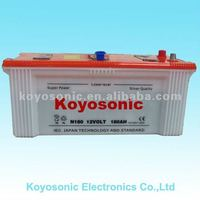 Good quality 12v180 Ah Dry charged Auto Car Battery with aggressive price