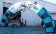 durable waterproof outdoor event inflatable arch/inflatable entrance arch/inflatable finish line arch