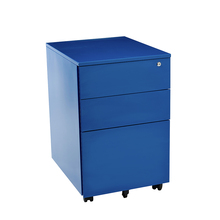 Colorful Office Equipment for A4 File Cabinet,3 Drawer Mobile Pedestal For Sale