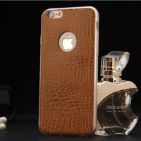 5.5 inch snake skin pattern cheap mobile phone case for iphone 6 plus