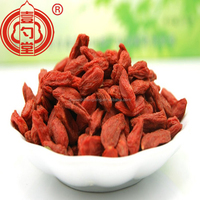 Plumpy dried Goji berries( gou qi zi) medlar fruit export abroad