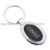 Wonderful oval logo keychains