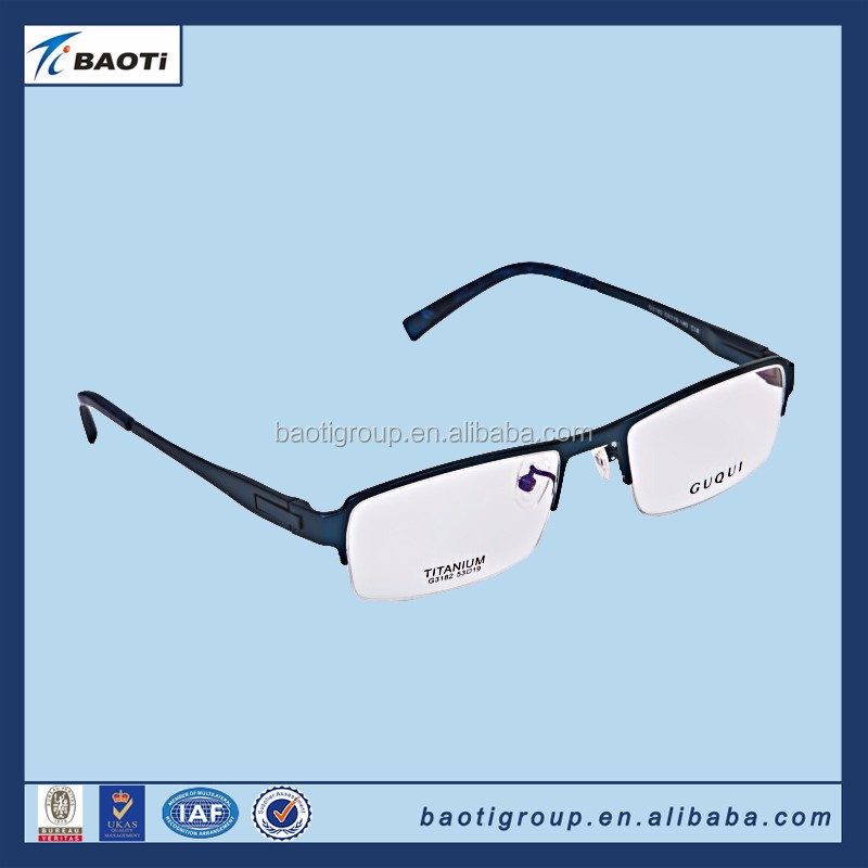 china supply Best Sale titanium eyeware myopia frame with latest design