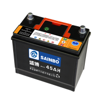 high quality 12V45AH MF car battery best price