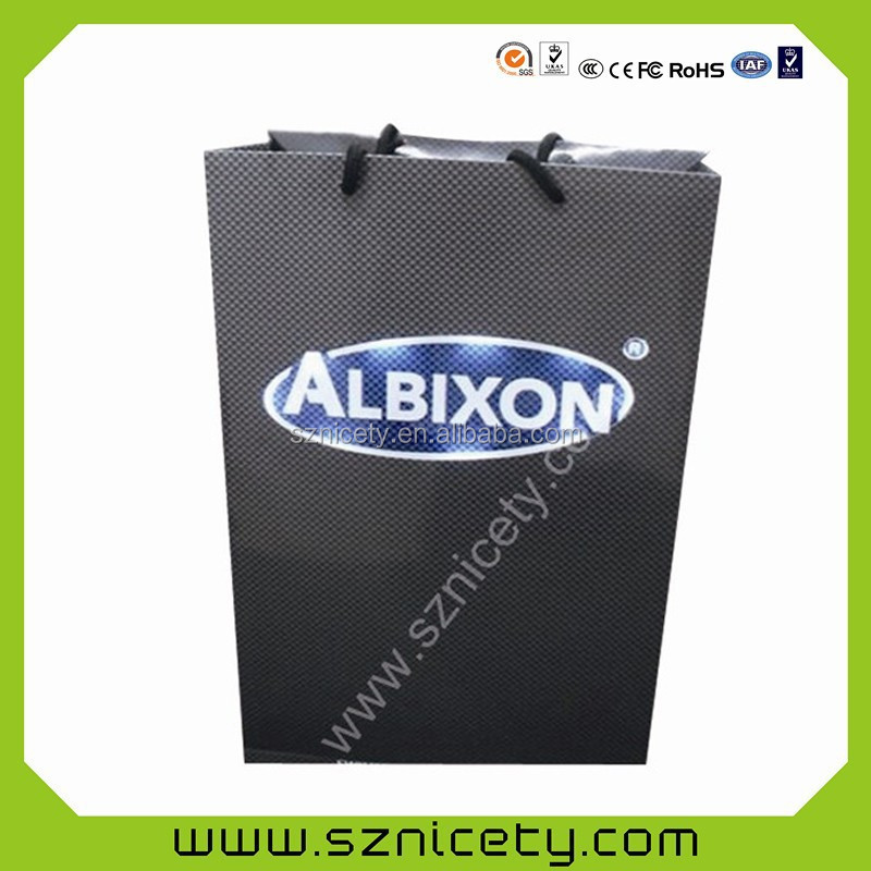 2015 promotional gift bag with visible LEDs lights