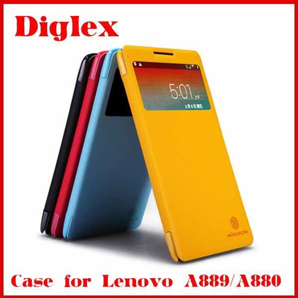 Original Nillkin Fresh Flip Leather Case for Lenovo A889 A880