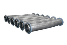 Welding Flange Stainless Steel Braided Flexible Corrugated Hose For Delivery Oil and Gas