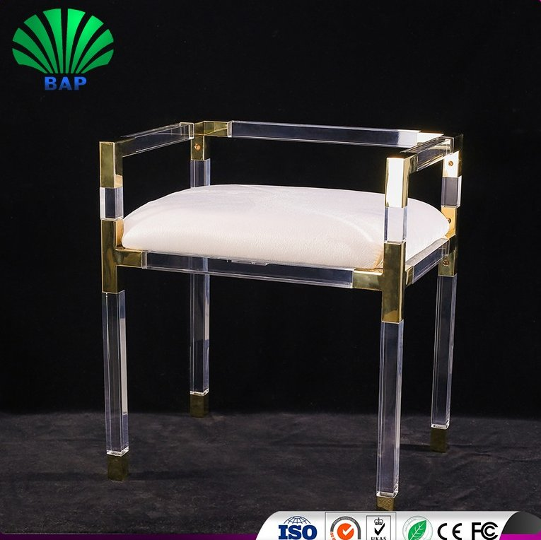 High end Eco-Friendly Hotel Banquet Furniture Acrylic Wedding Chair Reception Luxury Chairs
