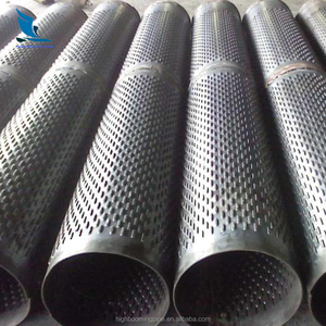 N80 L80 P110 single stainless steel slotted screen casing pipe exporter