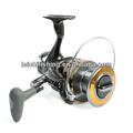 Stainless steel plate spinning fishing reel