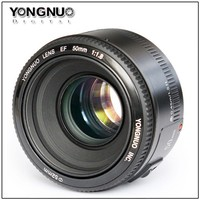 YONGNUO YN 50mm F1.8 Lens Large Aperture Auto Focus Lens for Canon