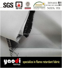 High quality 100% polyester FR blackout fabric for curtain