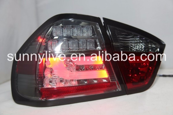 E90 320i 323i 325 330 335 LED Tail Light Smoke Black 2005-2008 Year SN