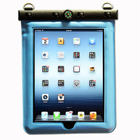 Black Waterproof Pouch Sleeve Case Skin Bag For Apple iPad Mini Tablet