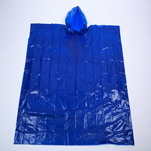 Pe Raincoat Printing Logo Disposable Plus Size Coats Plastic Poncho For Raining