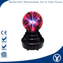 "China wholesale market agents 3"" battery operated plasma orb light, magic decoration lamp"