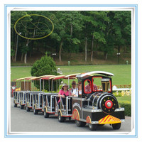 Children mini trackless train backyard train tourist trains for sale