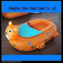 summer hot sell colorful animal kiddie inflatable bumper boat