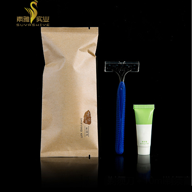 Hotel amenities Mach 3 Razor Dispsoable Shaving Razor