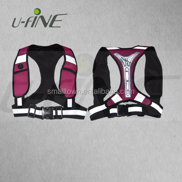 Fashionable Waterproof LED Reflective Running Vest